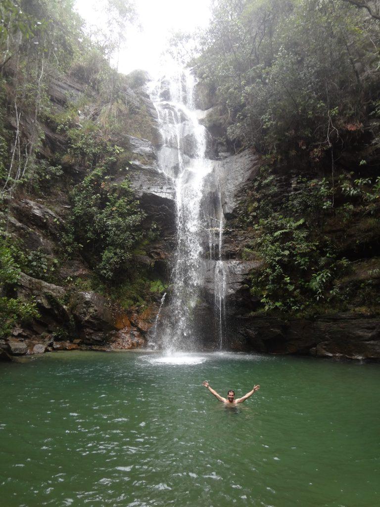 Cachoeira Santa Barbara Veadeiros