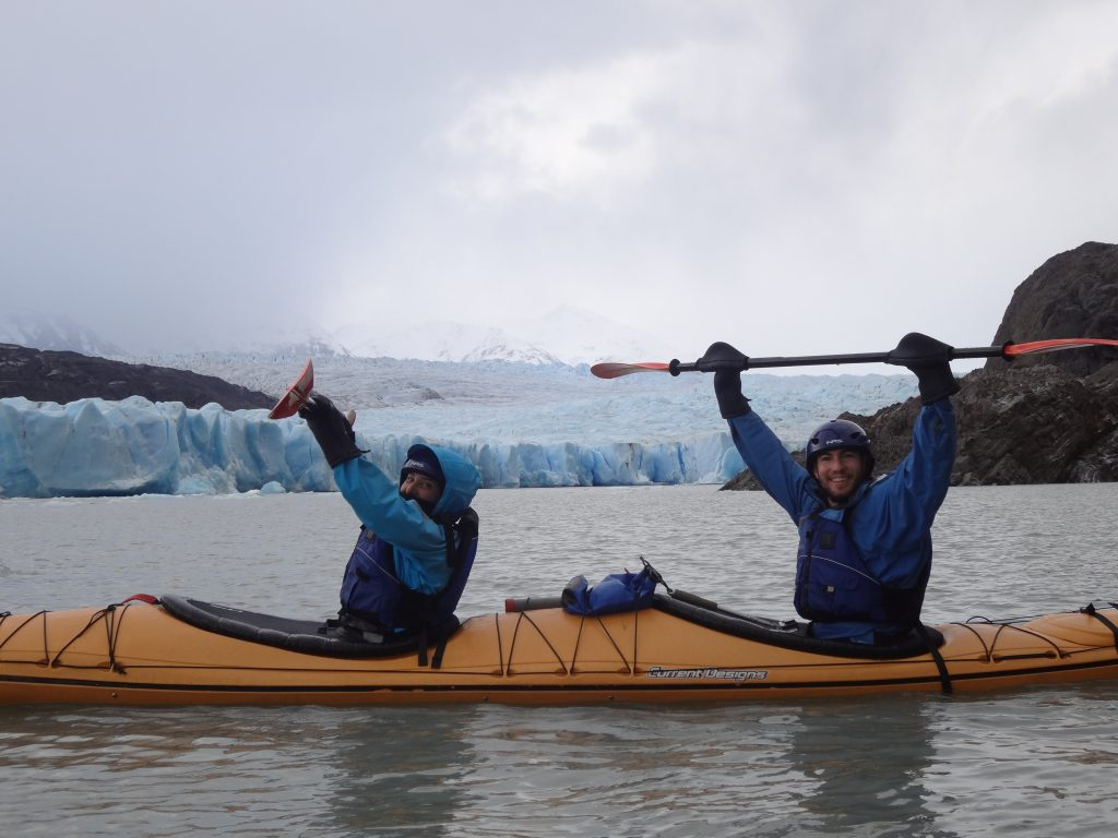 glaciar grey Paine