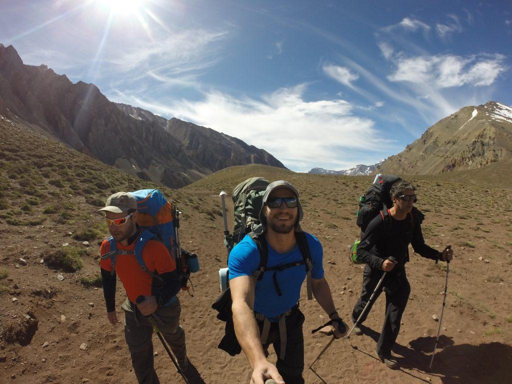 Trekking confluencia